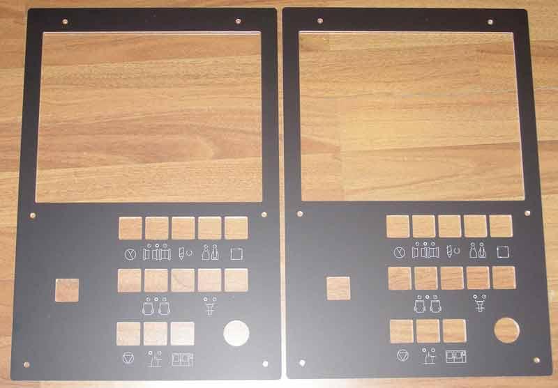Izrada prednjih ploča