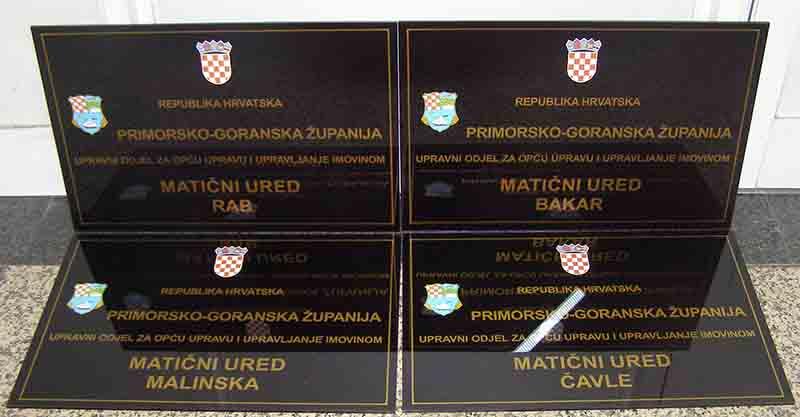 Ploče za državnu upravu