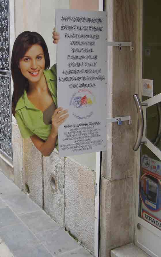 Reklame od rezane folije