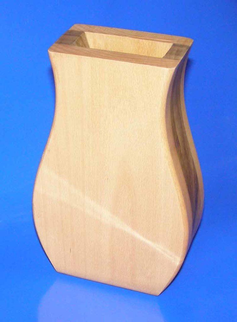 Drvena vaza