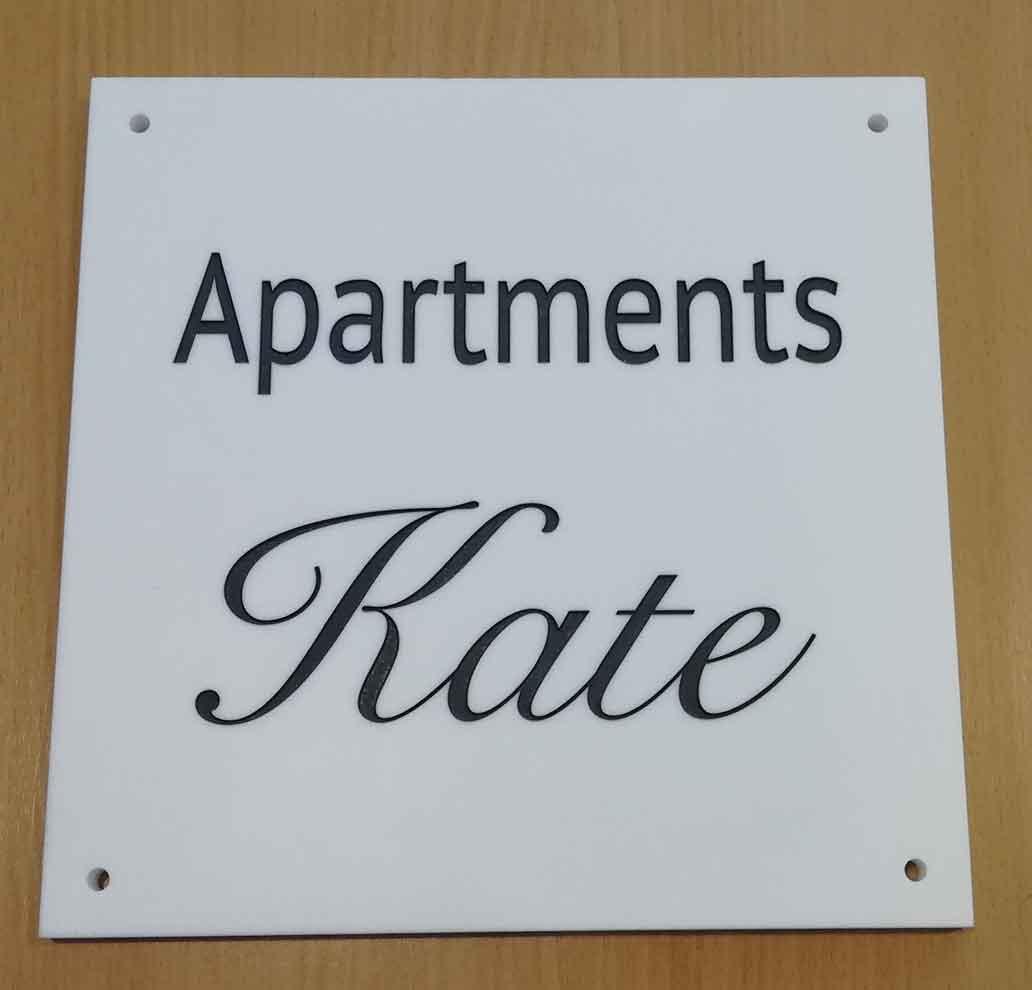 Ploča za apartman