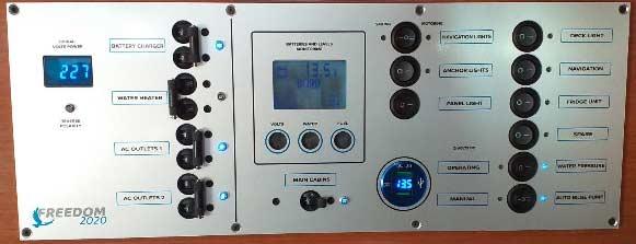 Instrument ploča za brod